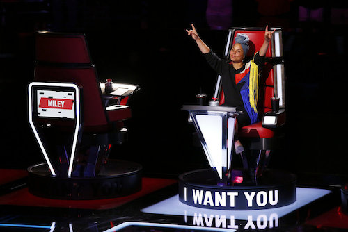 "THE VOICE -- ""Blind Auditions"" -- Pictured: Alicia Keys -- (Photo by: Trae Patton/NBC)"