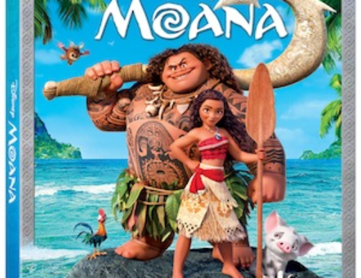 Moana Comes to Blu-ray & DVD March 7, 2017