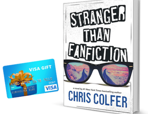 Giveaway: Stranger Than Fanfiction by Chris Colfer